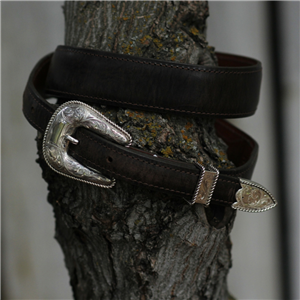 "3/4"" ROPE EDGE BUCKLE SHIELD"