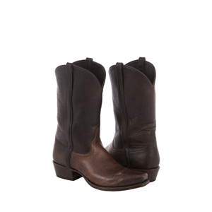 MEN'S MOCHA BISON COWBOY BOOT