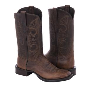 "Ladies Cowboy 12"" Canella Goat Swan Stitch Pattern"