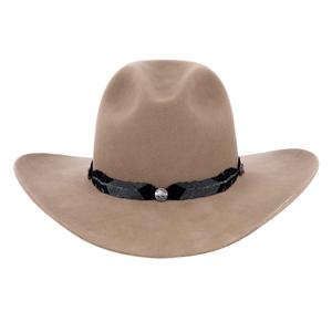 Matte Black/Slate Grey Green Staff Buffalo Head Buttons Hatband