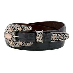 SUNSET TRAILS BIG BEND RG 14K BUCKLE SET
