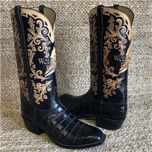 MEN'S LUCCHESE WOLF CREEK RANCH TOOLED