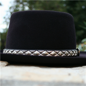 HAT BAND DIAMOND HALF DIAMOND STERLING