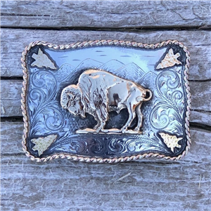 SUNSET TRAILS HENRY MOUNTAIN 14K BUCKLE