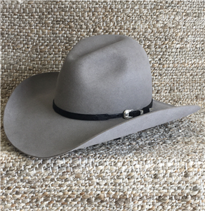 BLACK FINGER CARVED HAT BAND 3/8-1/4