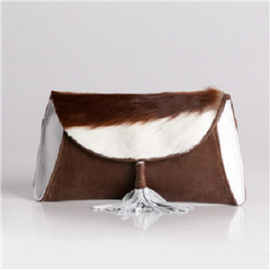 CLUTCH ENVELOPE SPRINKBOK ICE WHITE/GOLD