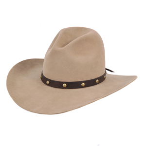 BURNS 1876 ROUGH IN SPOTS HAT BAND