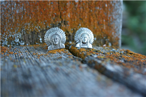 SUNSET TRAILS CHIEF CUFFLINKS