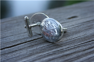 WESTERN ENGRAVED CUFFLINKS