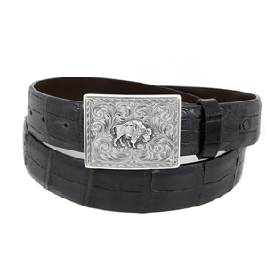 SUNSET TRAILS SAWTOOTH BISON BUCKLE