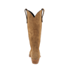 "LADIES TAN ROUGHOUT 15"" COWBOY BOOT"