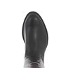MEN'S BLACK WITH RED STITCH ROPER BOOT