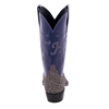 "Ladies 12"" Cowboy Grey Elephant Purple Top Custom Initials"