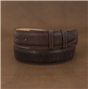 "1 1/2"" MOCHA BISON BELT W/BILLETSS ()"